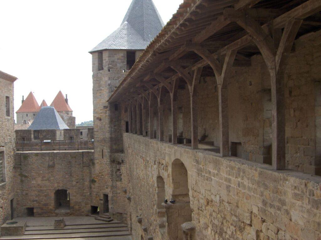 Festningen i festningen i Carcassonne