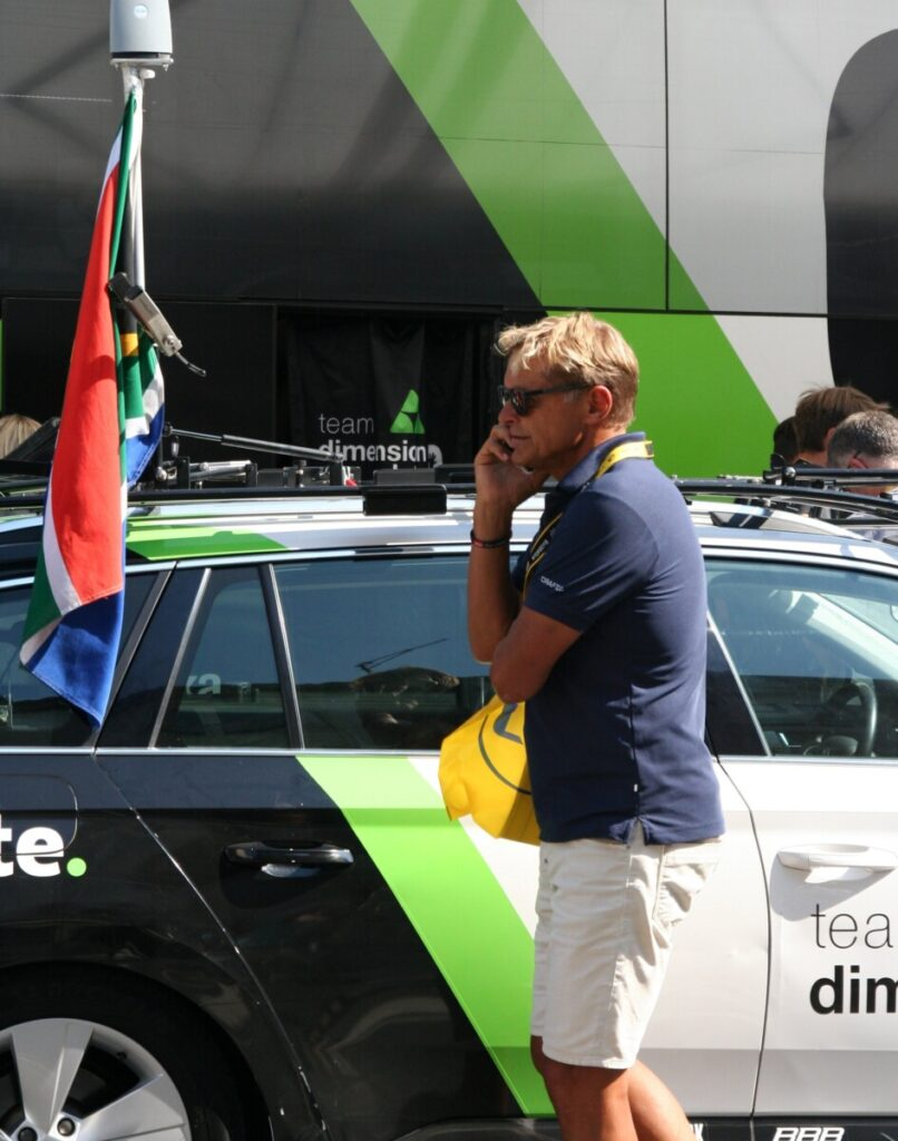 Dag-Otto Lauritzen er alltid tilstede når Tour de France-sirkuset er i byen