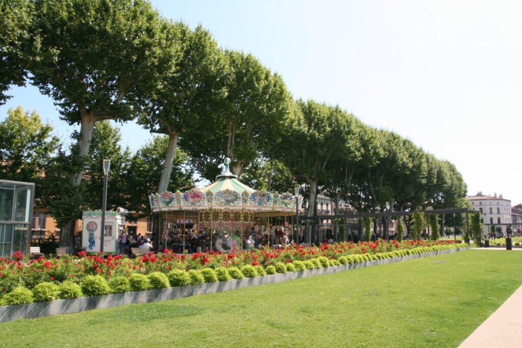 The modern Carcassonne