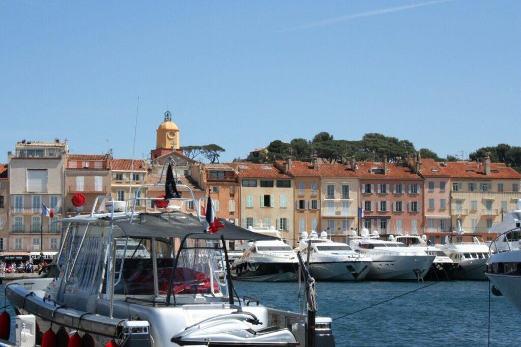 Havna i Saint-Tropez