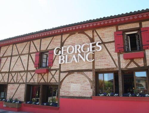 Georges Blanc og hans restaurant i Vonnas