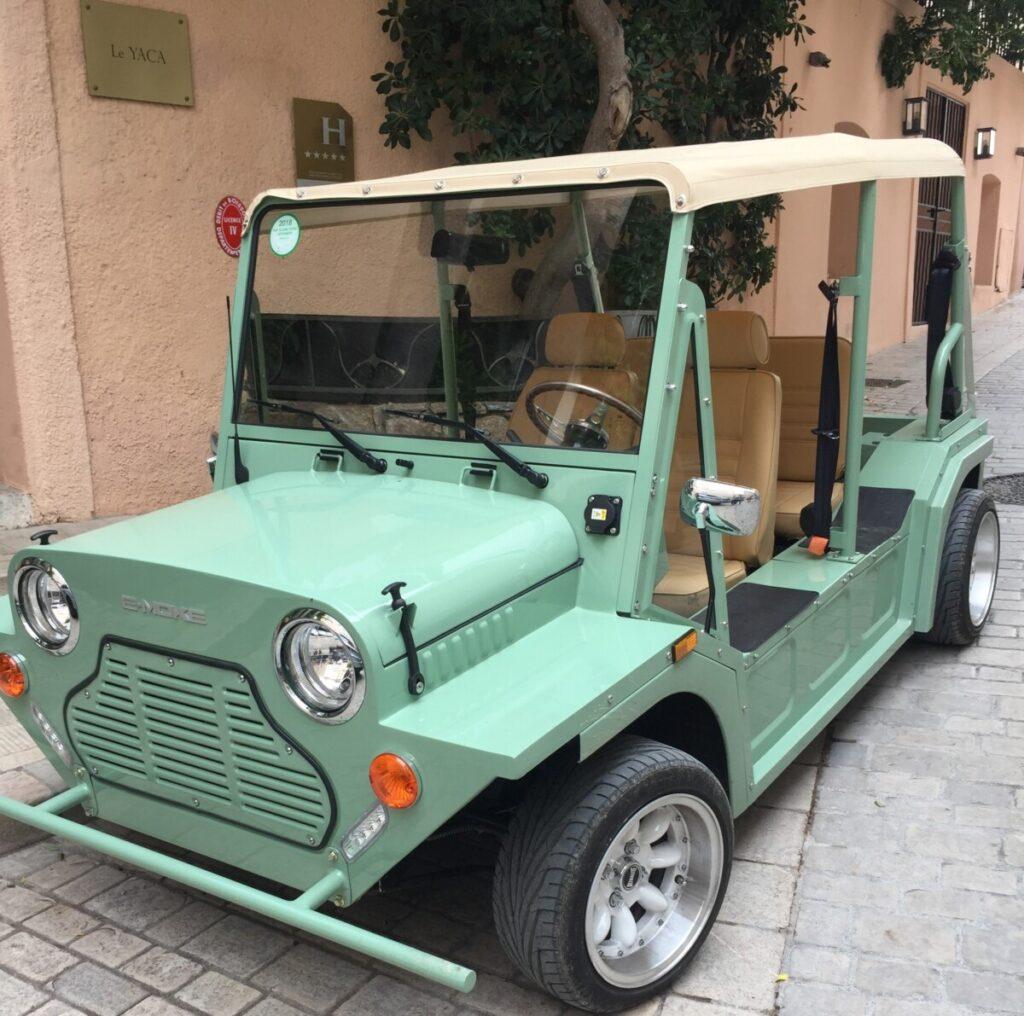 Cool car in Saint Tropez