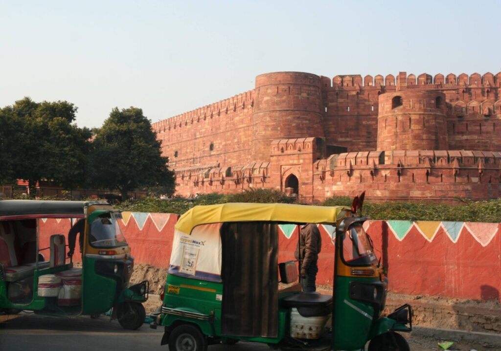 The Red Fort i Agra