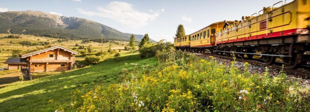 Det gule toget - Le Train Jaune