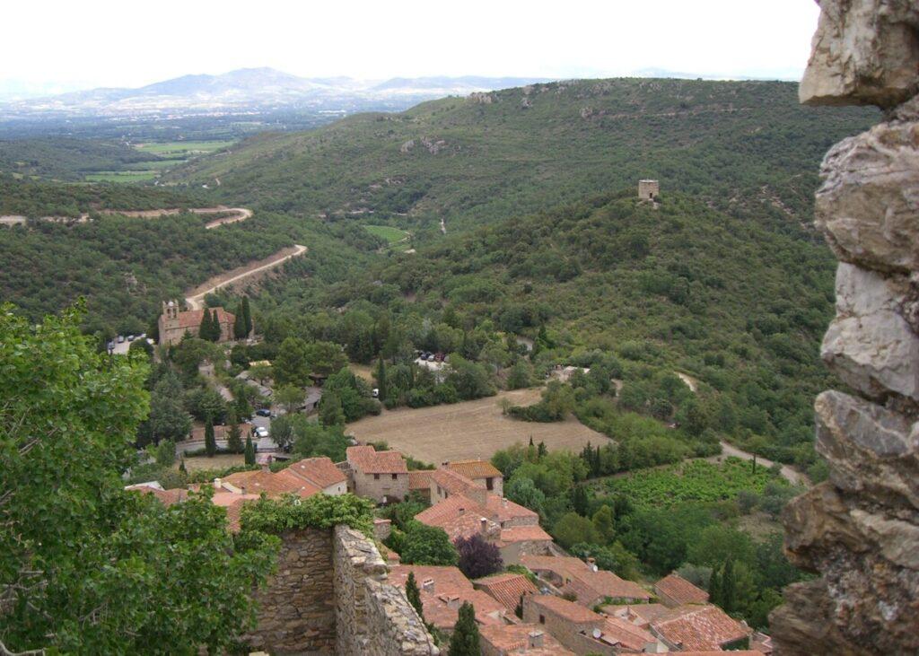 Castelnou i Pyreneene