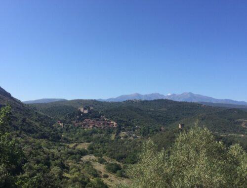 Pyreneene og Castelnou
