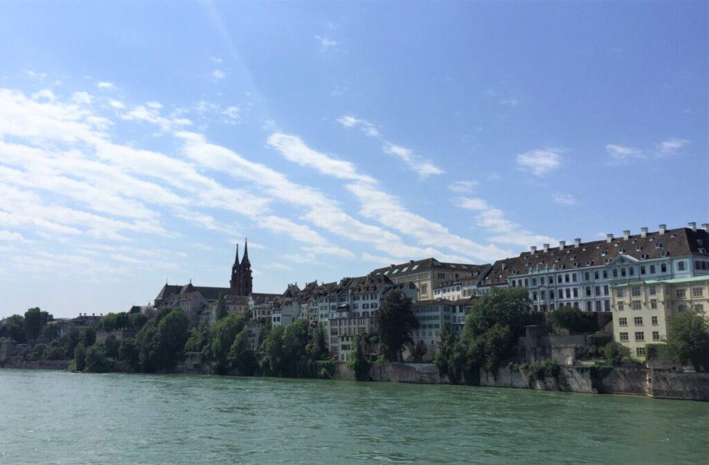 The Rhein runs through Base