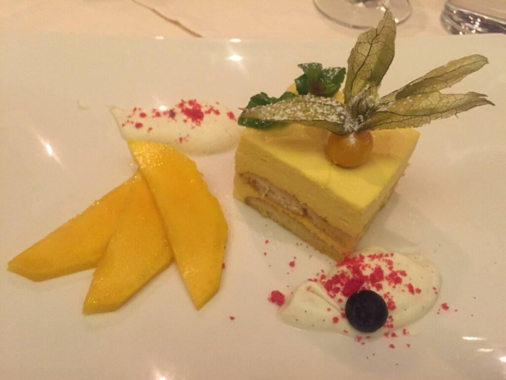 Mat på hotel Sonne i Ischgl
