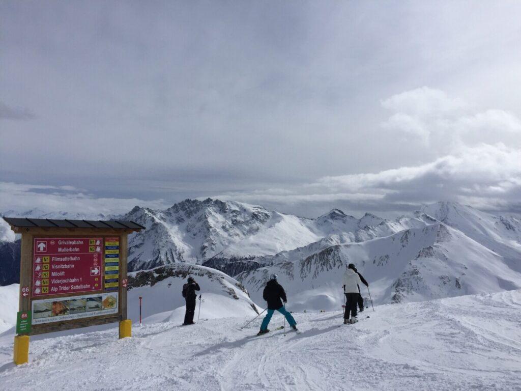 Toppen av Ischgl