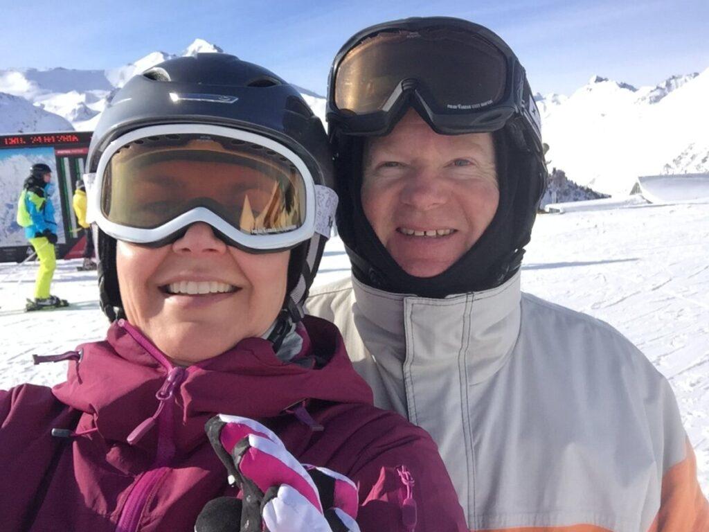 Catrine og Lars i Ischgl