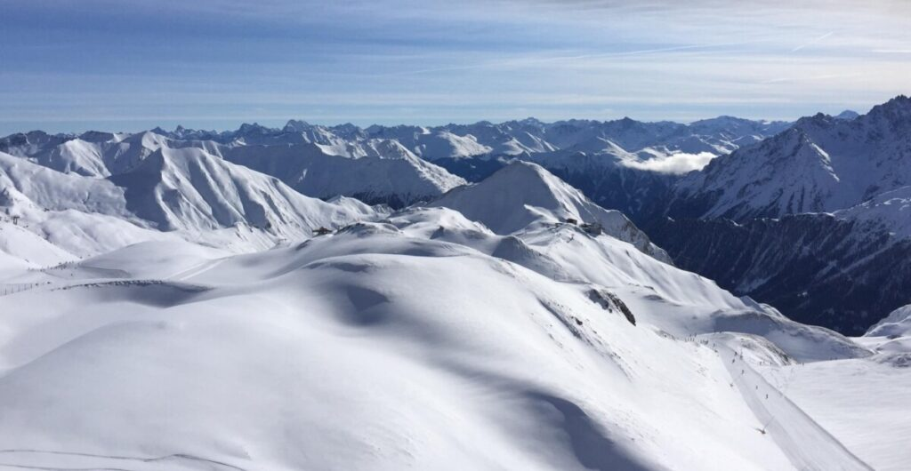 Panorama over Ischgl
