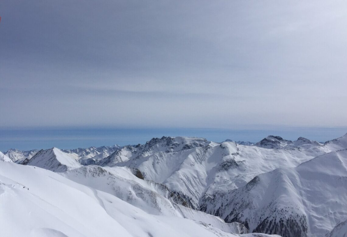 Alpene over Ischgl