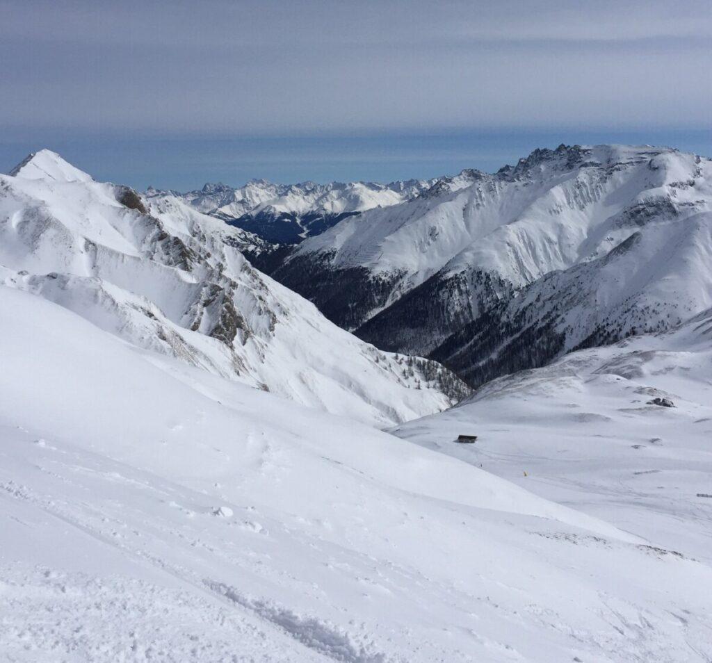 Majestic mountains in Ischgl Austria