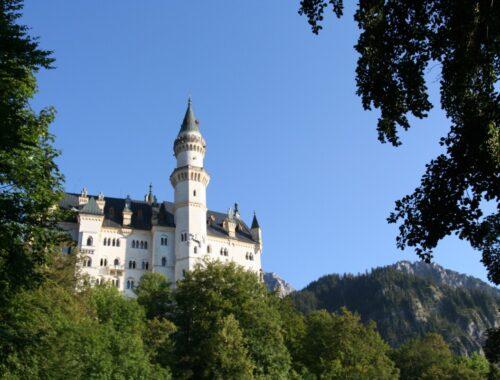 Neuschwanstein i Bayern