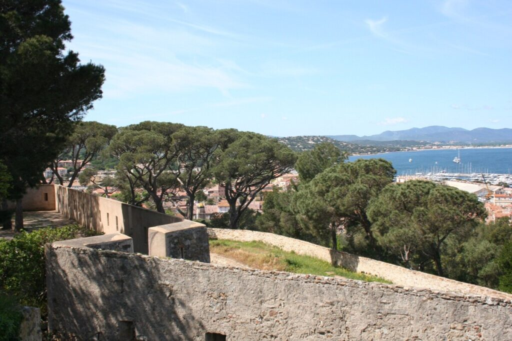 View from the Citadel in Saint Tropez