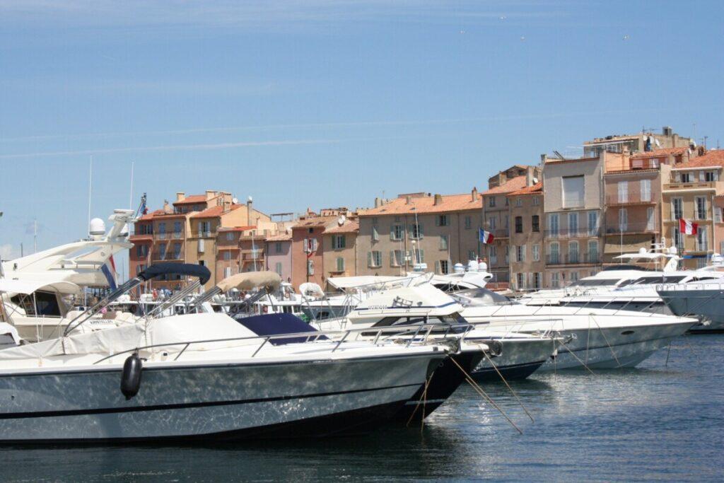Harbour in Saint Tropez