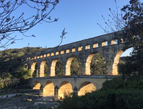Pont du Gard i Frankrike