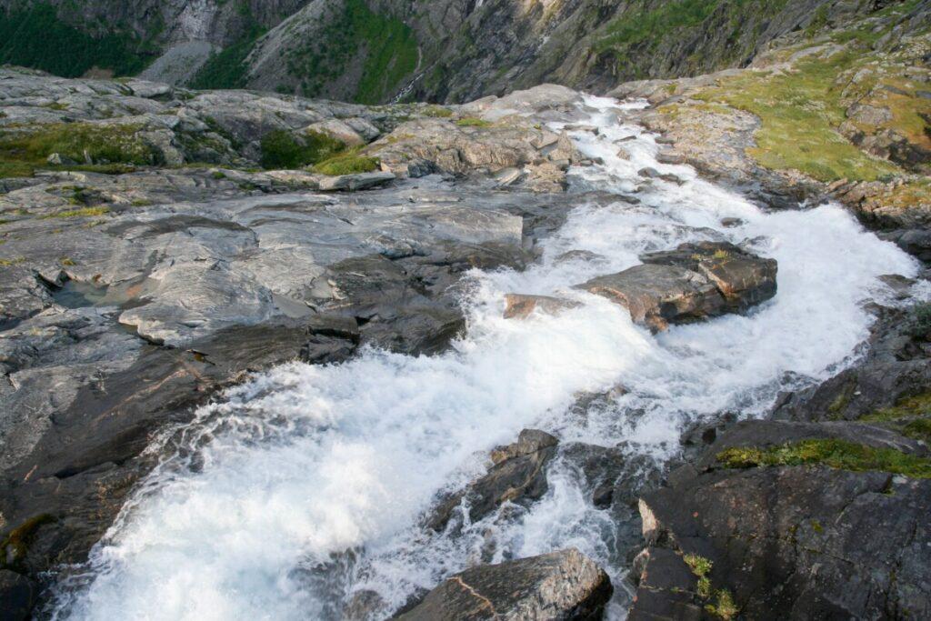 Fossen ved Trollstigen