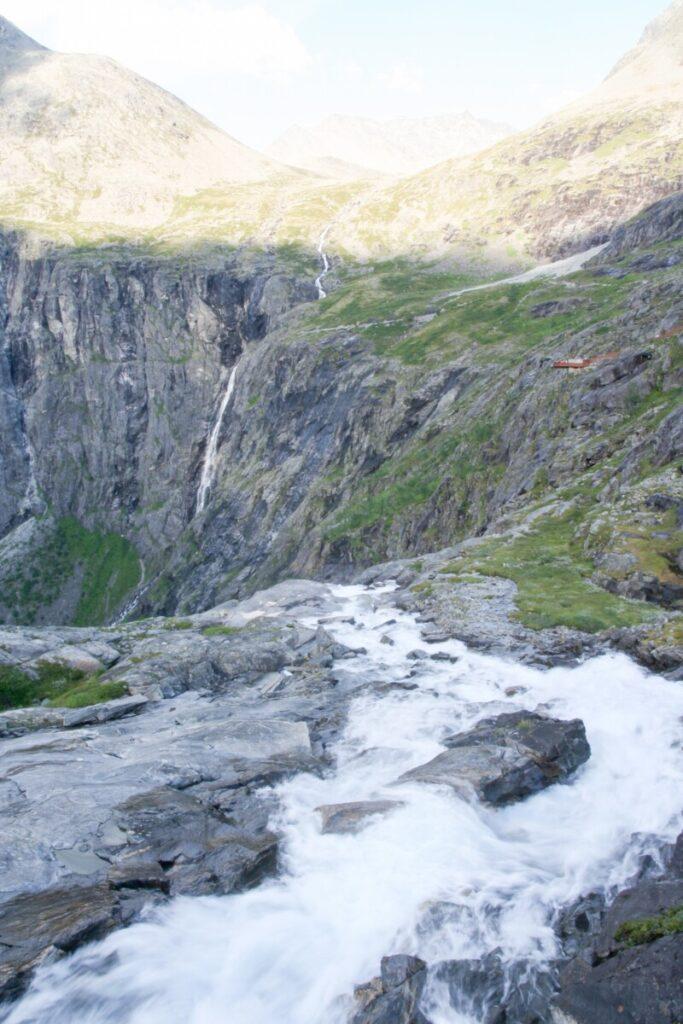 Waterfall by Trollstigen
