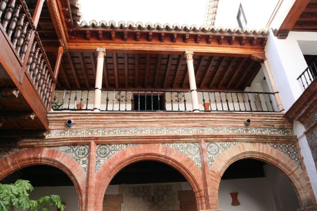 Mondragon-palasset i Ronda i Andalucia