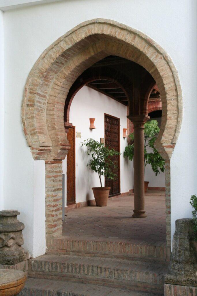 Hagen i Mondragon-palasset i Ronda