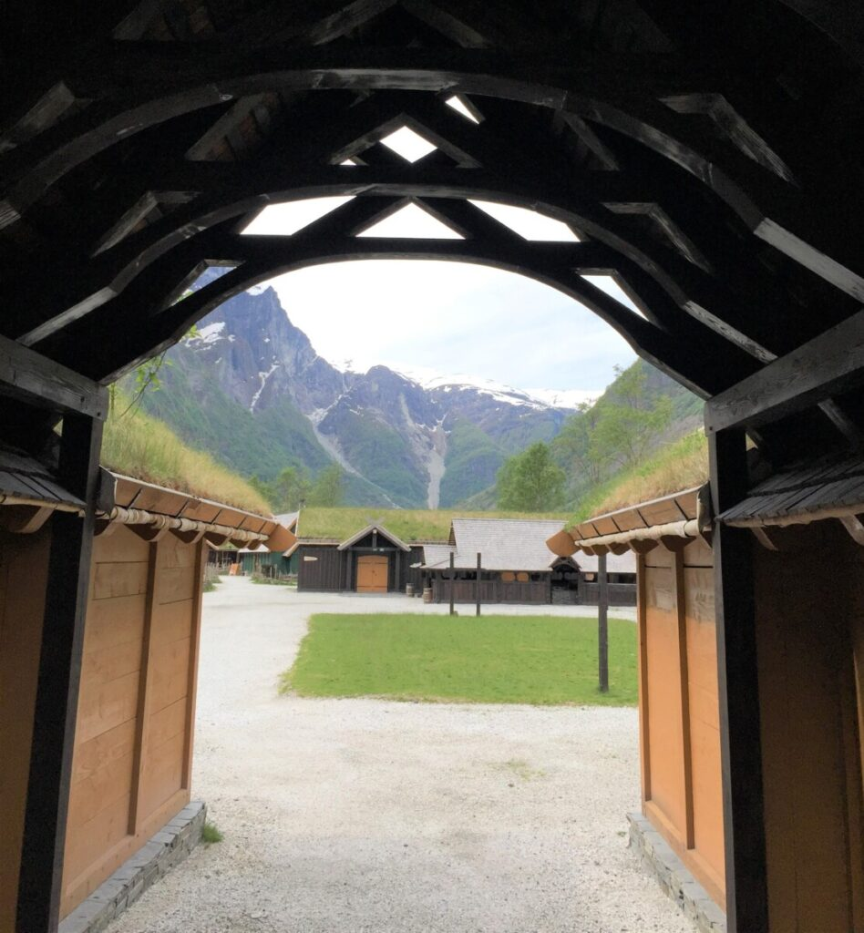 Vikinglandsbyen i Gudvangen