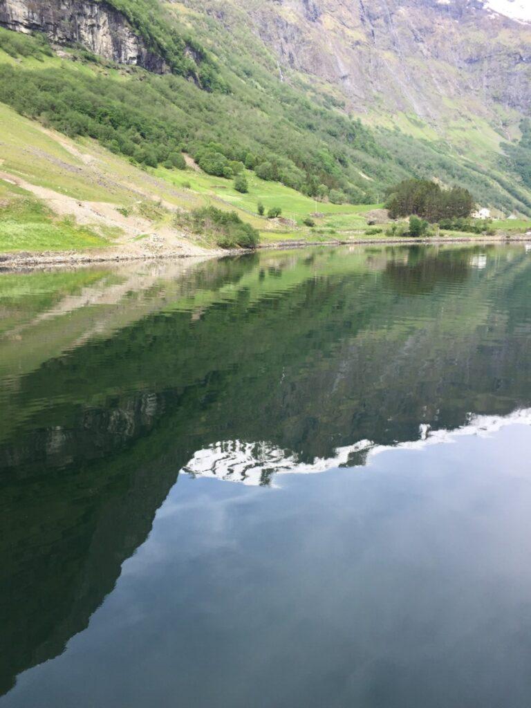 Aurlandsfjorden og Nærøyfjorden