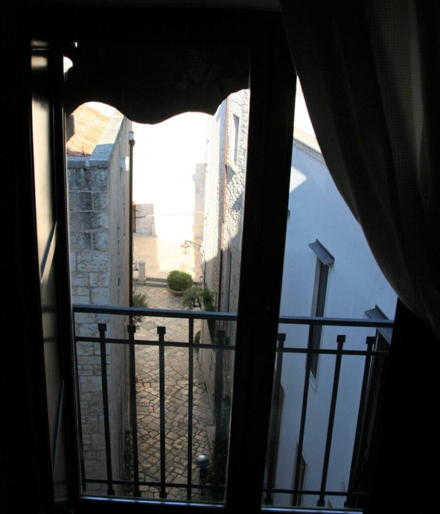 Utsikt fra Hotel Corte Altavilla i Conversano