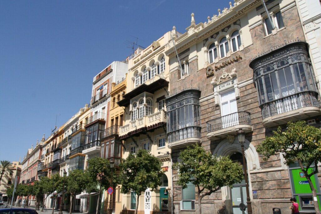 Balconies of Sevilla