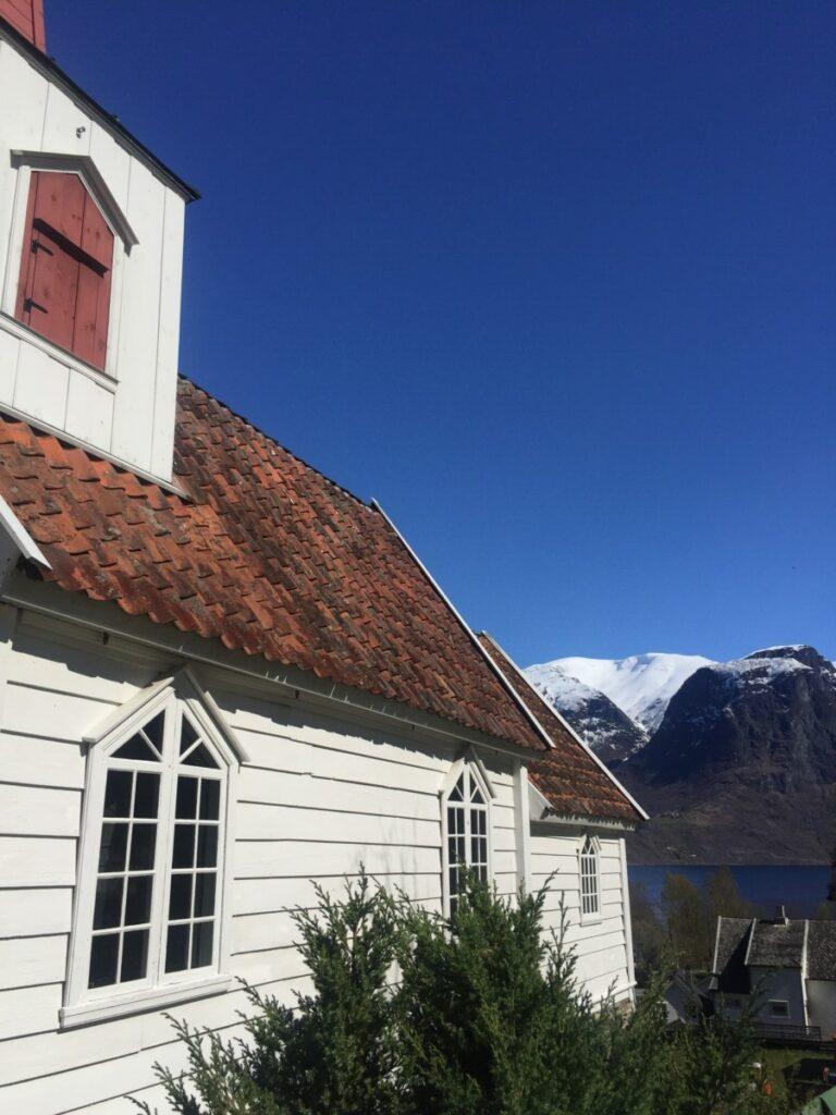 Undredal stavechurch. Scandinavias smallest.