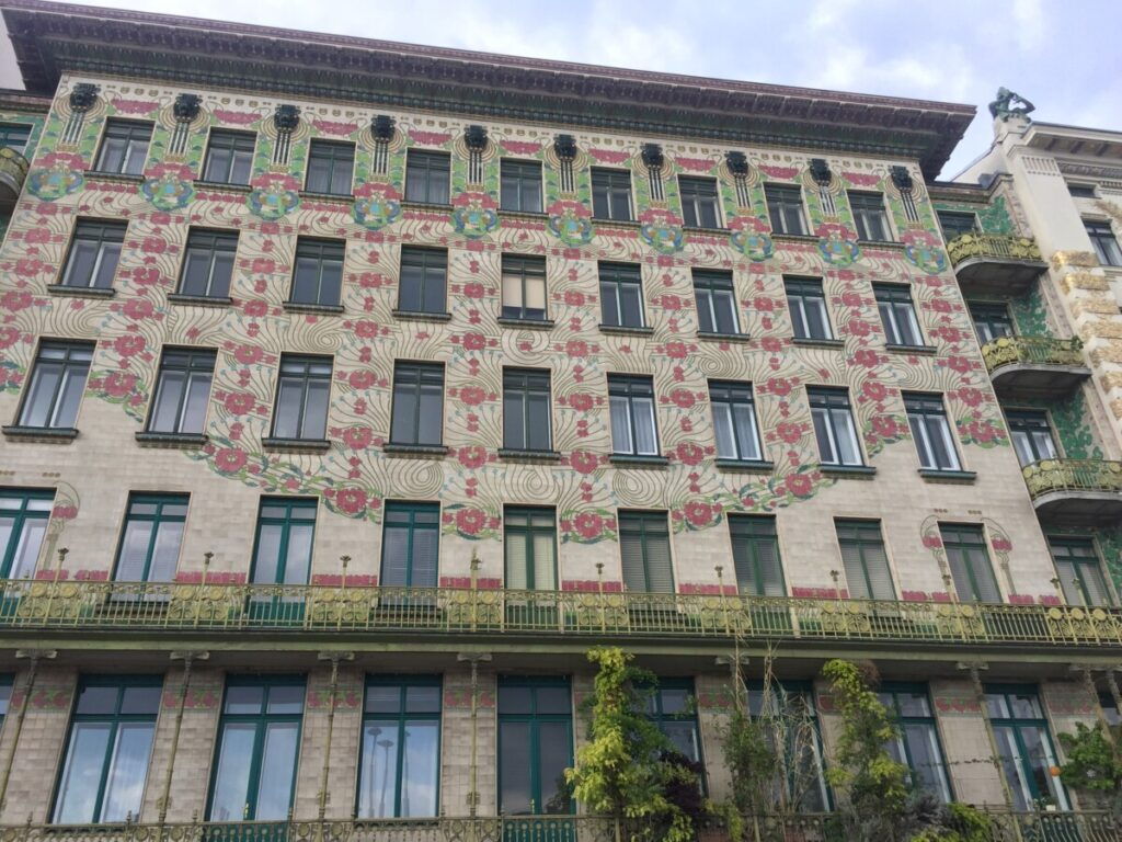 Flott arkitektur i Wien