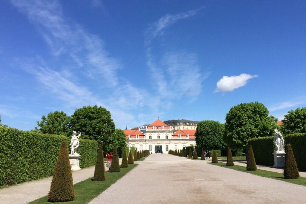 Belvedere-palasset i Wien