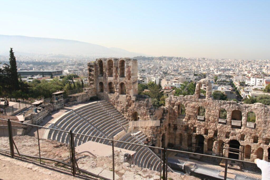 Teater på nedsiden av Akropolis