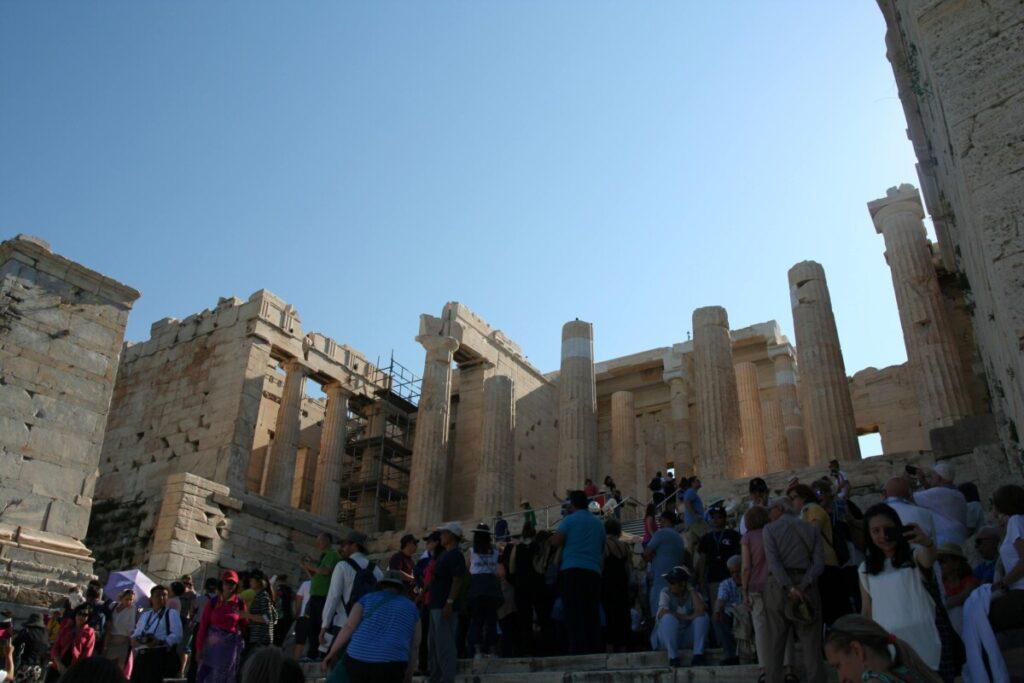 Inngangen til Akropolis