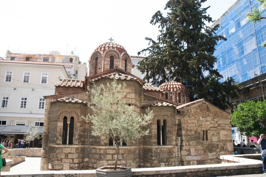 Kirke i sentrum av Athen