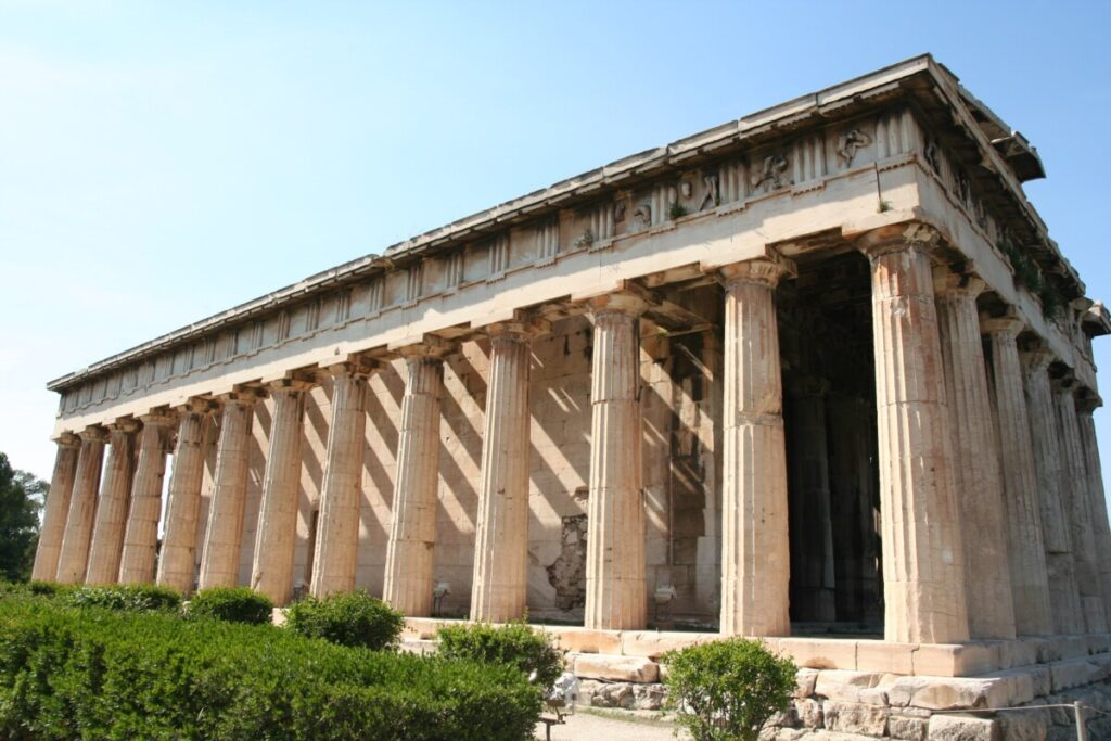 Tempel på Agora i Athen