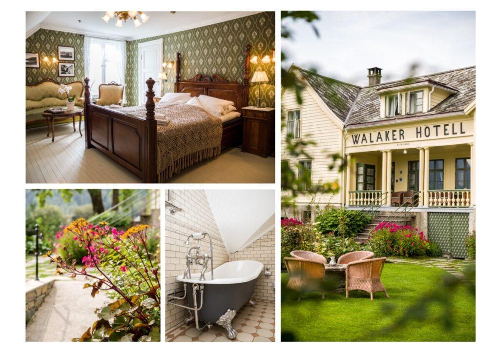 Historisk rom på Walaker hotell
